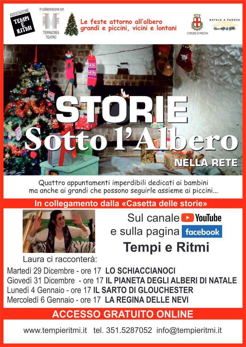 LOCANDINA STORIE SOTTO L ALBERO